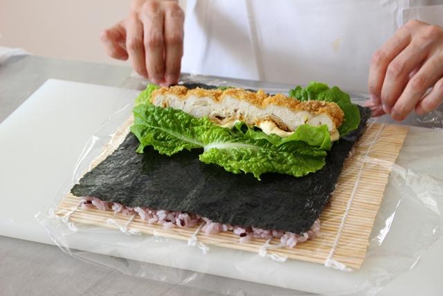 寿司飯まく